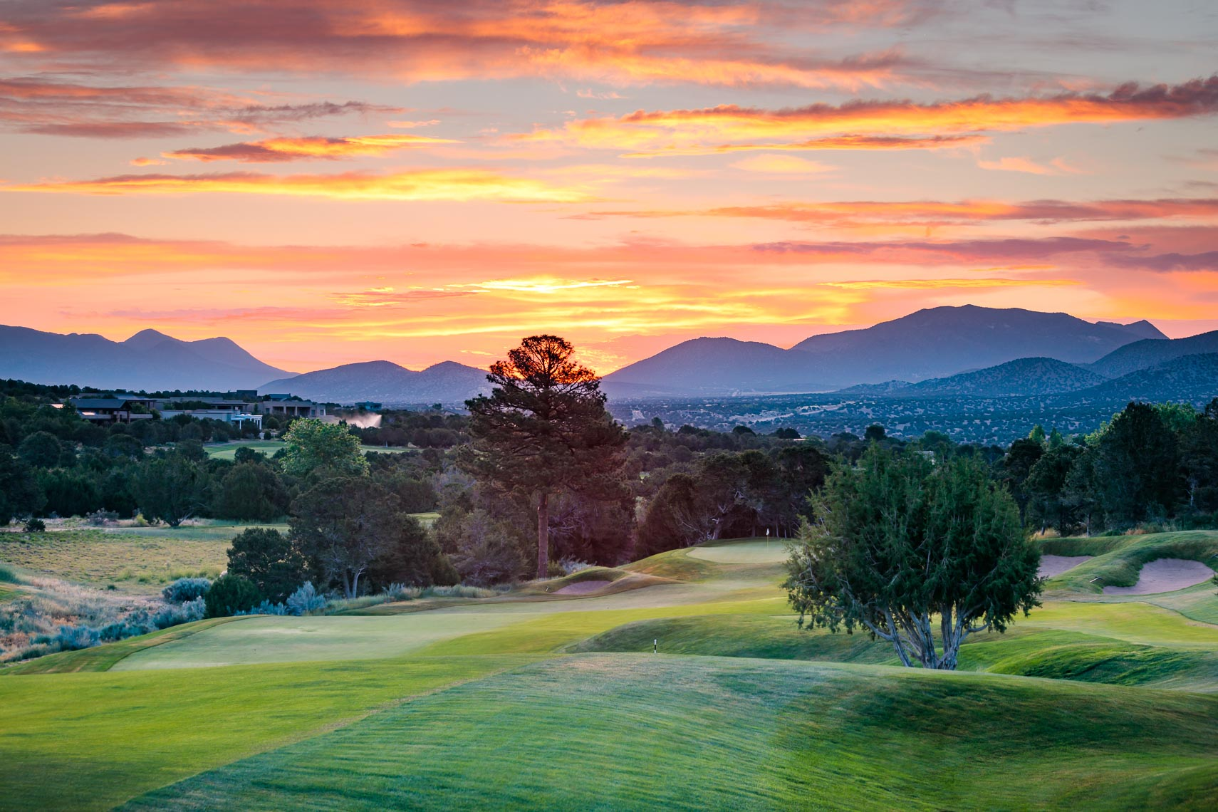 New Mexico Golf Course Paako Ridge Greens | Michael DeYoung