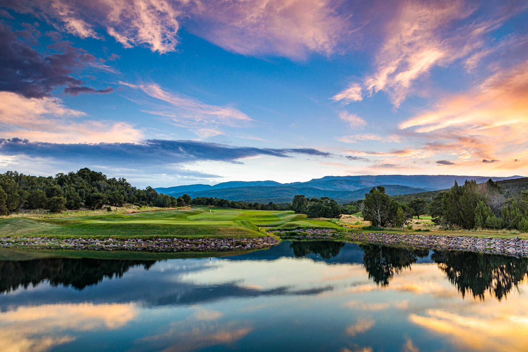 New Mexico Golf Course Landscape Sunrise | Michael DeYoung