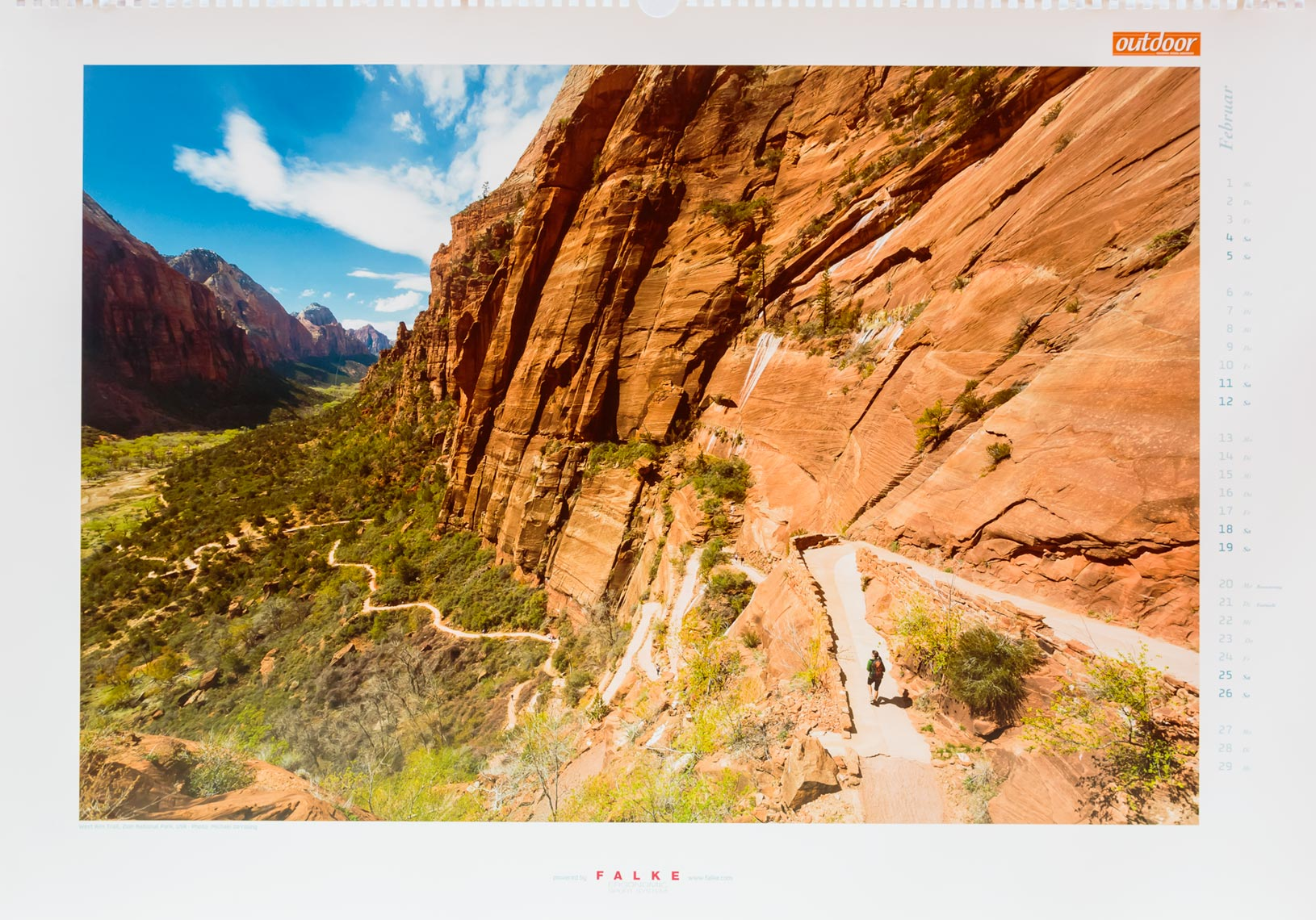 OUTDOOR-Magazin-Calendar-Zion-Observation-Point-Trail