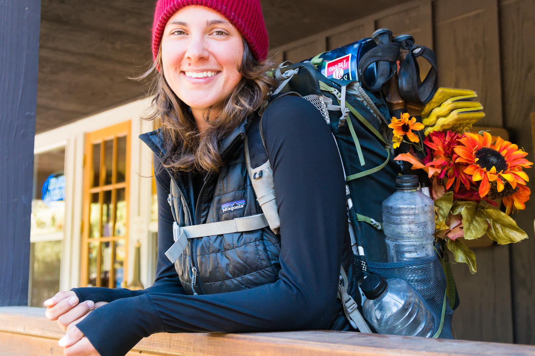 Pacific Crest Trail Hiker Portrait | Michael DeYoung