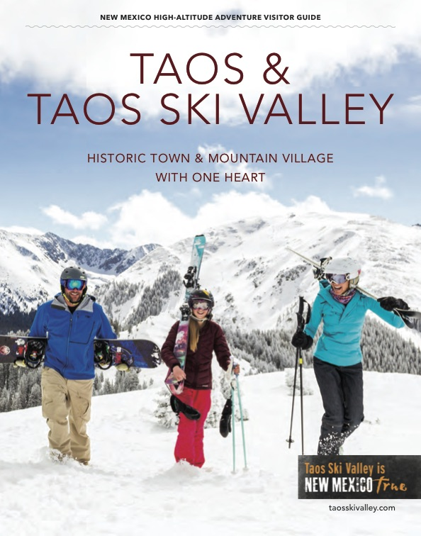 Taos Ski Valley Chamber 2016-2017 Visitor Guide Cover