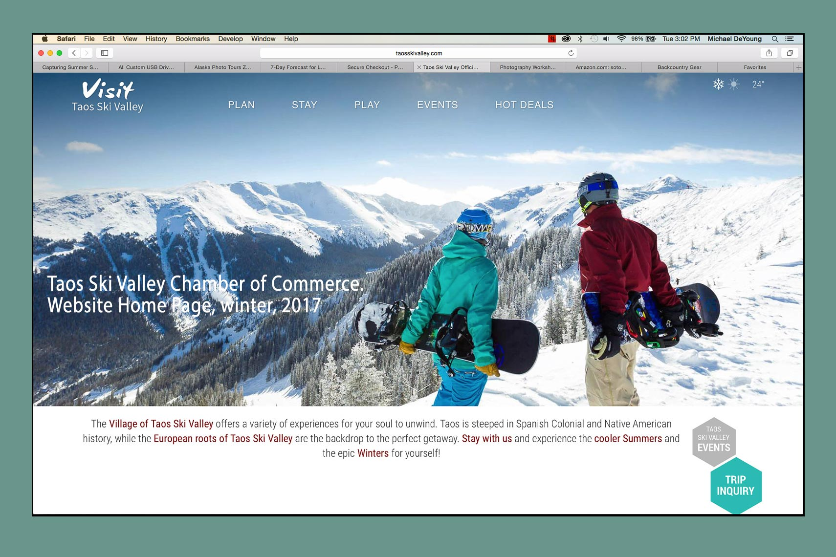 Taos-Ski-Valley-Chamber-Web-Site-Home-Page