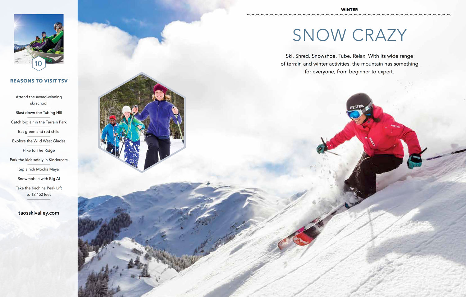Taos Ski Valley Visitor Guide Ski Photographer Michael DeYoung