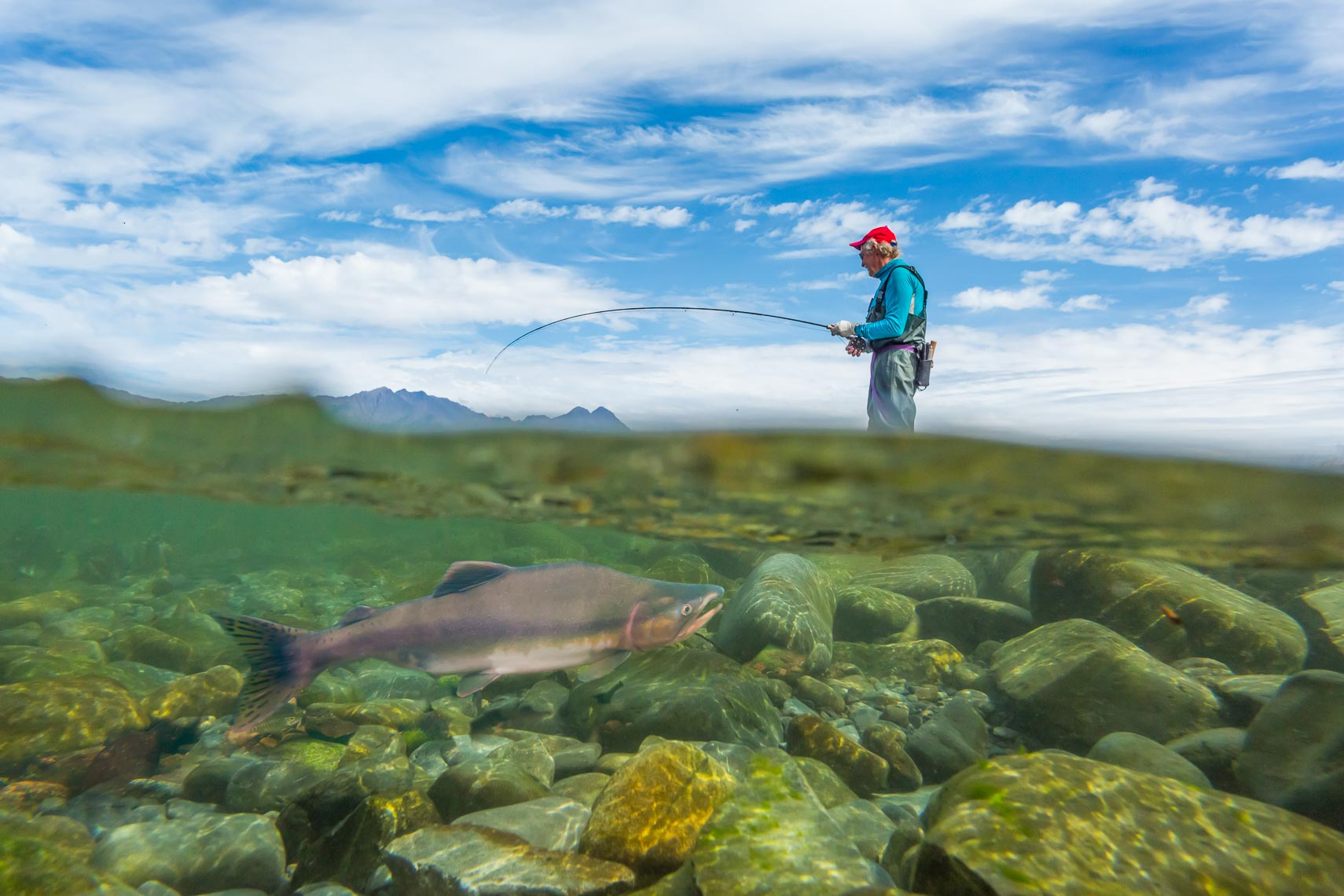 Alaska Travel Tourism Fly Fishing | Photographer Michael DeYoung