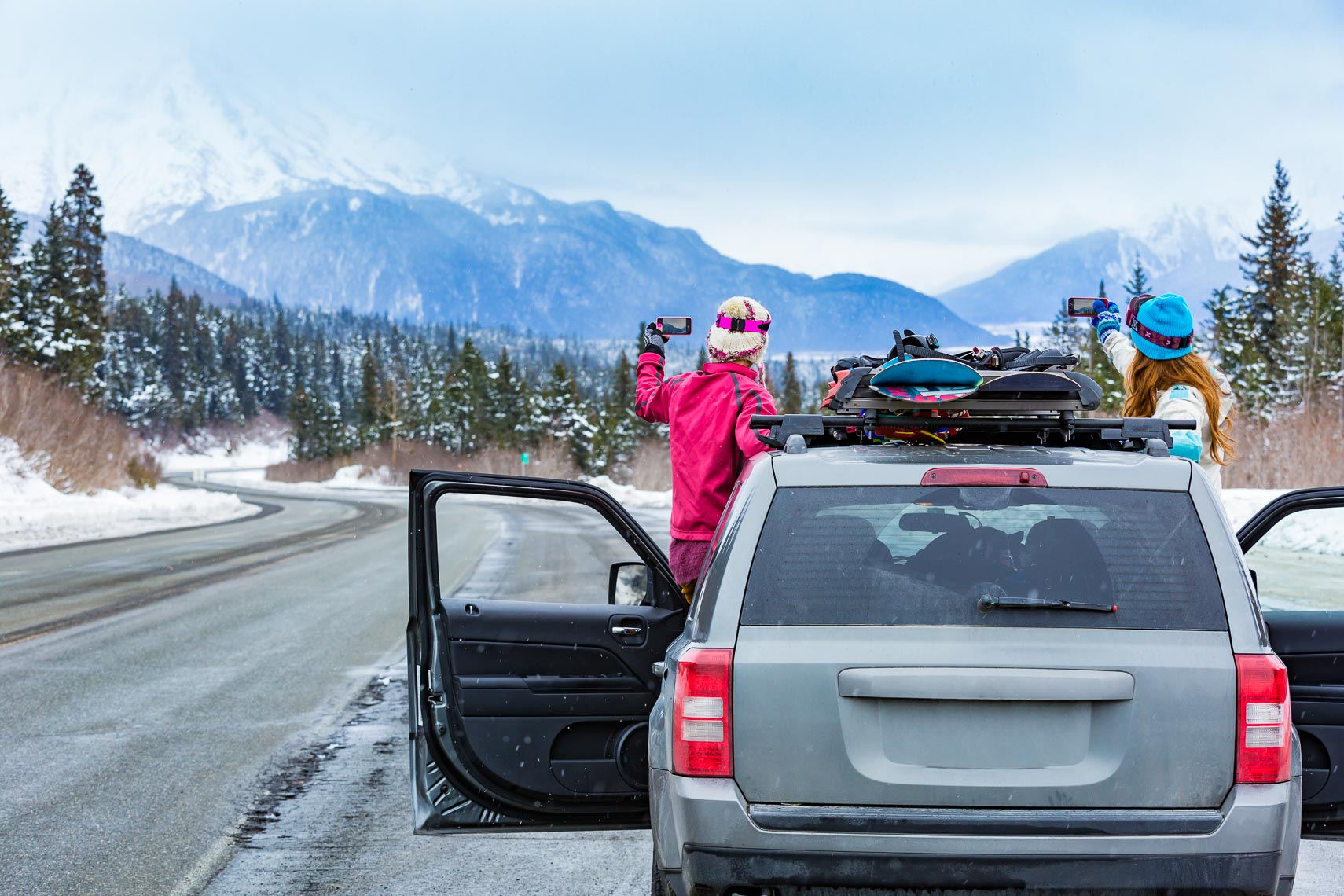 Alaska Winter Travel Friend Road Trip | Michael DeYoung