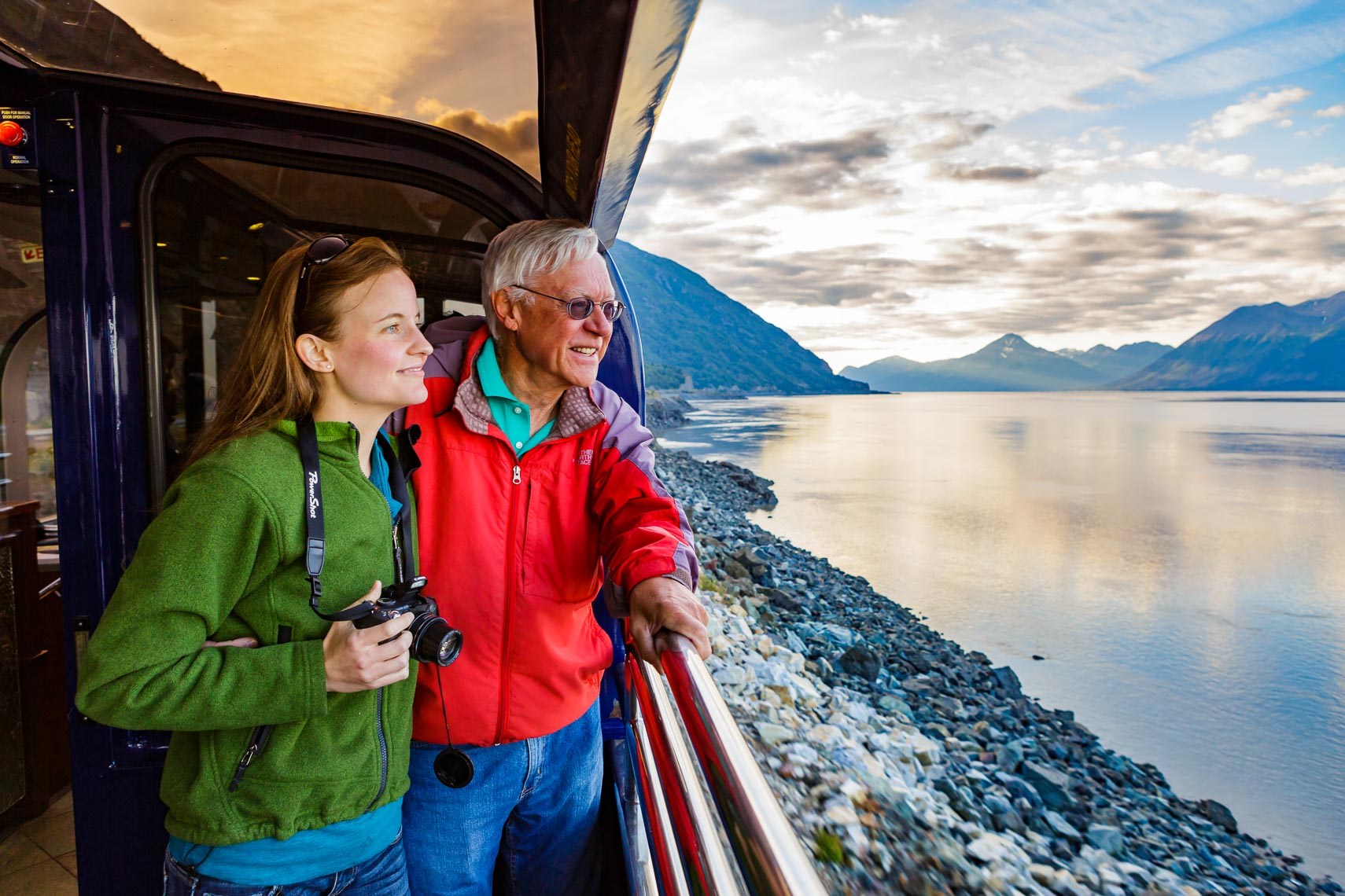 Alaska Railroad Passenger Travel | Photographer Michael DeYoung