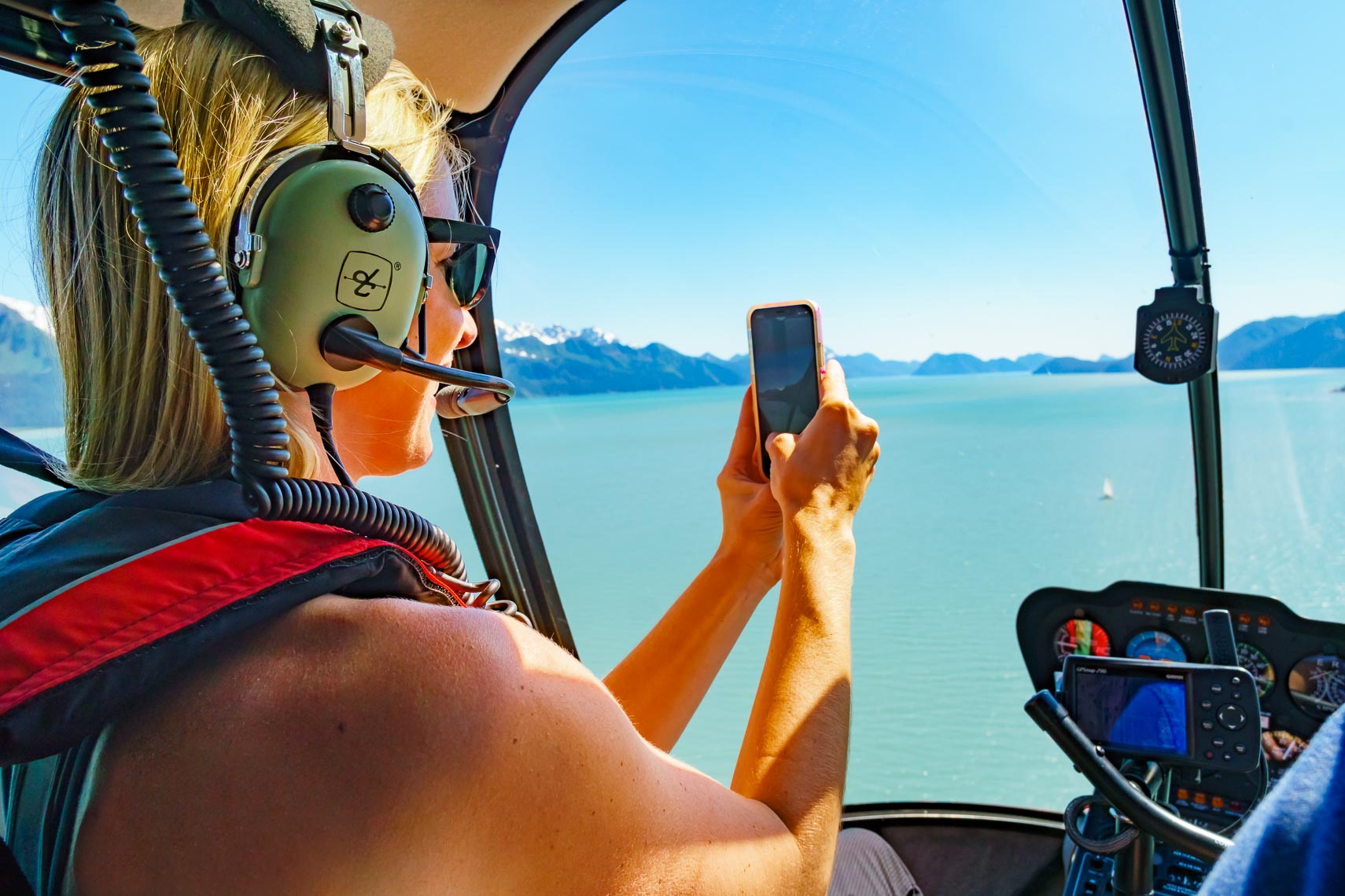 Alaska Travel Helicopter Ride | Photographer Michael DeYoung