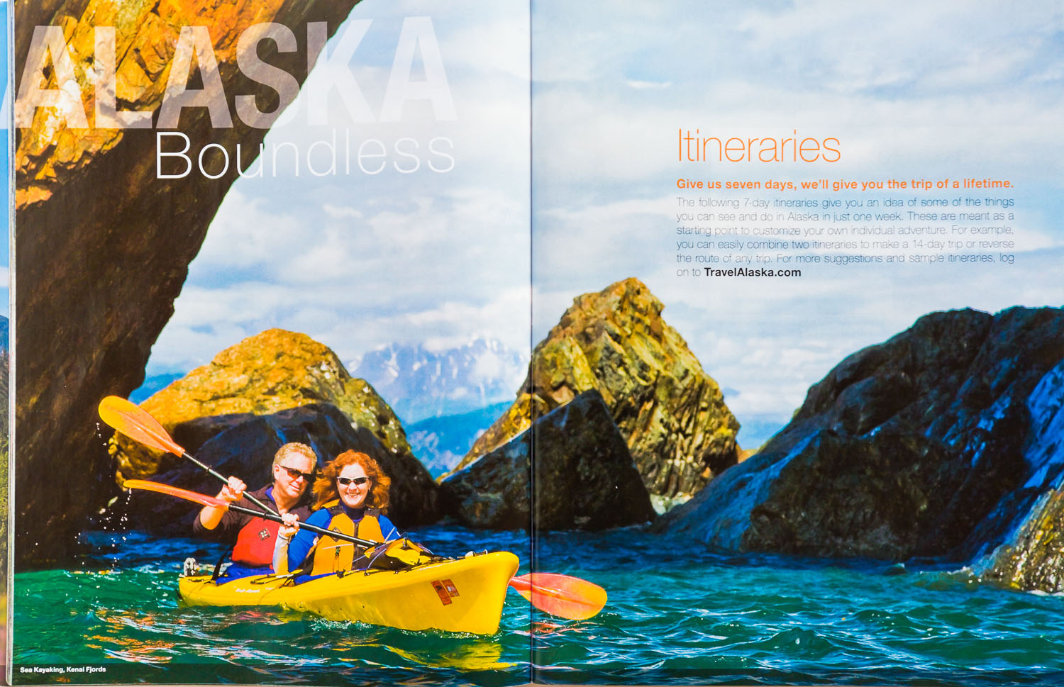 Travel_Alaska_Vacation_Guide_Kayaking_double_page_DeYoung
