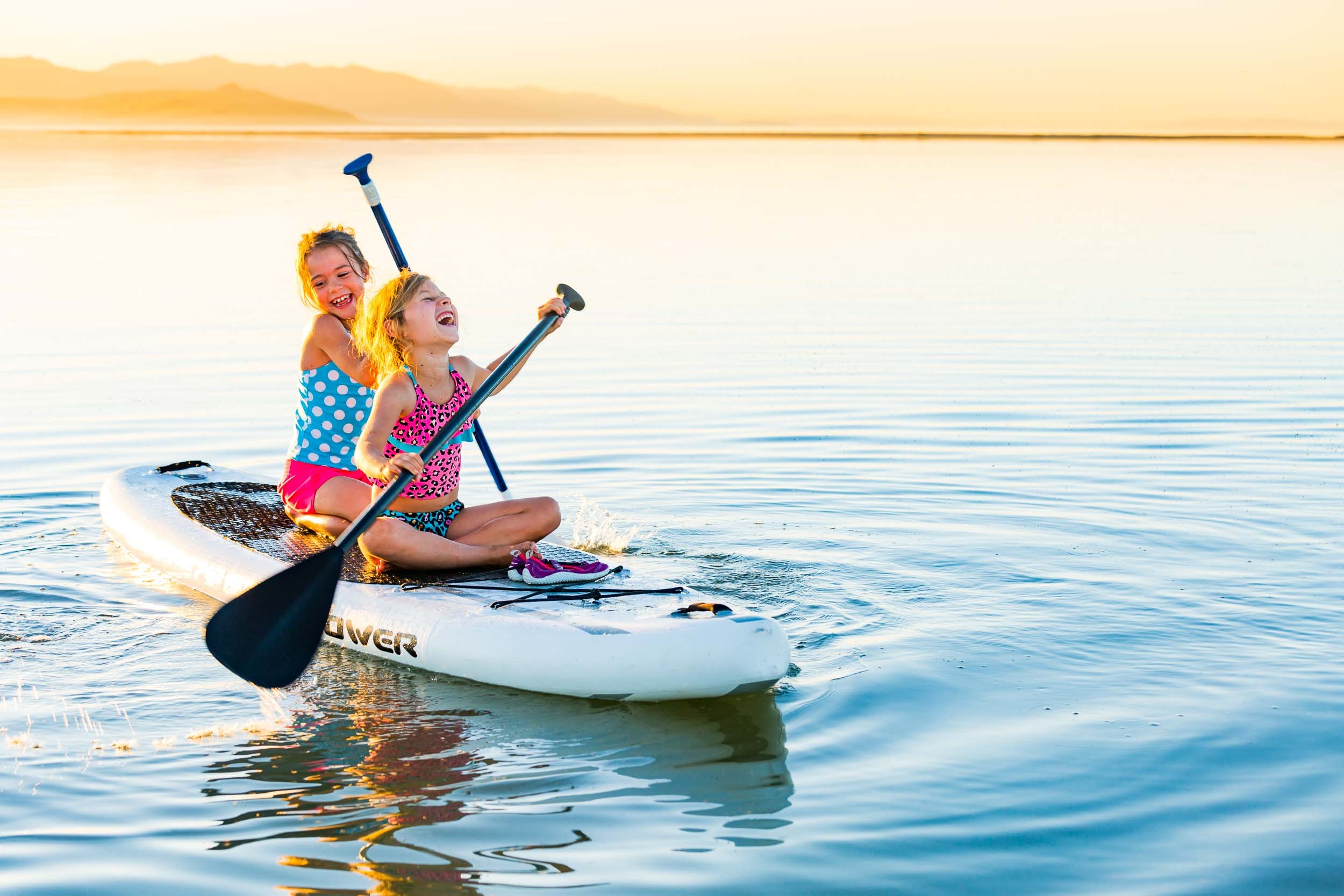 Taos New Mexico Photographers Michael DeYoung Kids Paddleboard