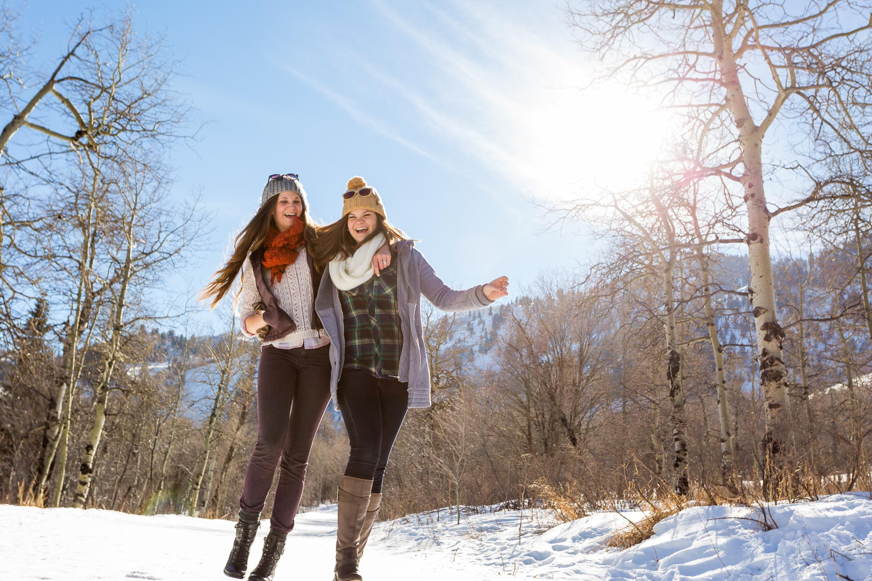 Winter Lifestyle in Utah Sister Time | Michael DeYoung