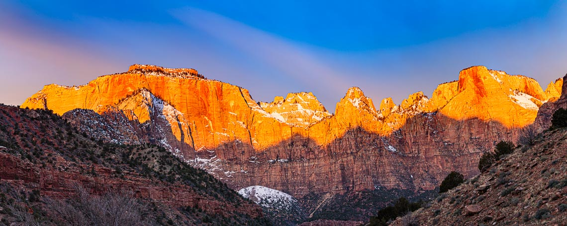 West Temple Zion Landscape in Utah Michael DeYoung