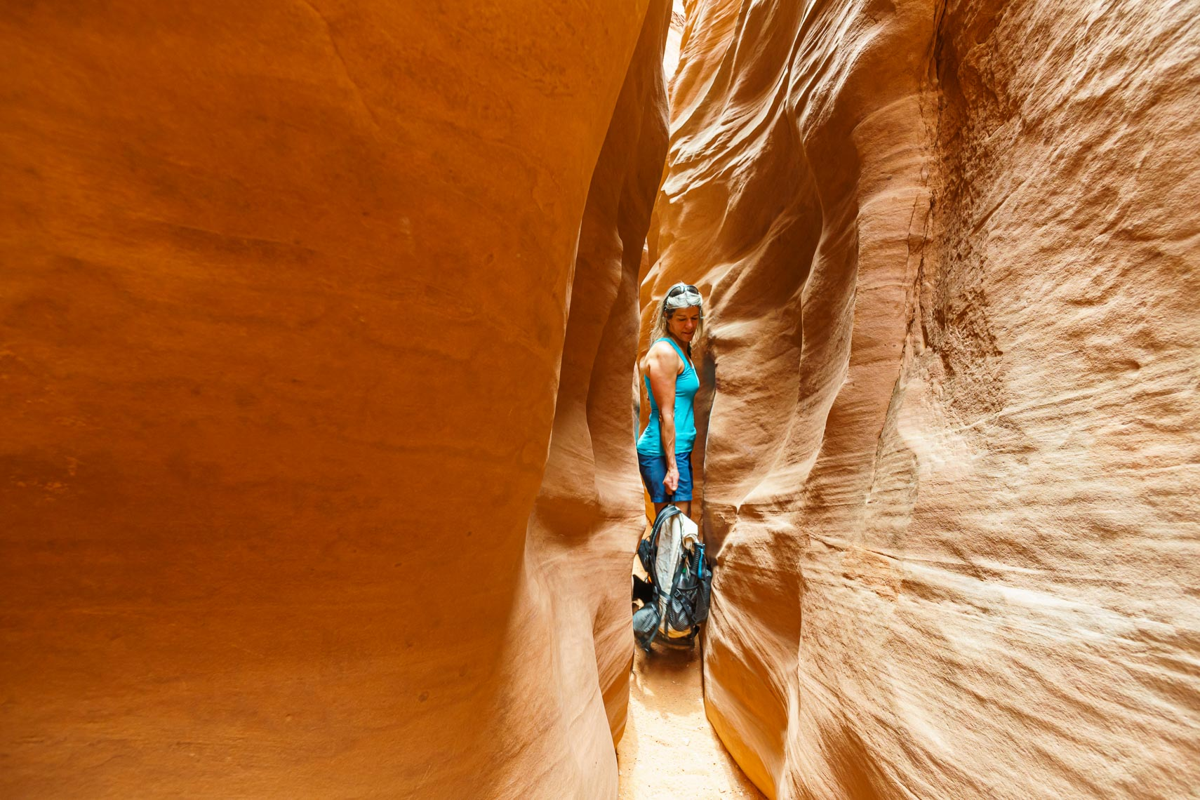 Slot Canyon Adventure Hiking | Michael DeYoung