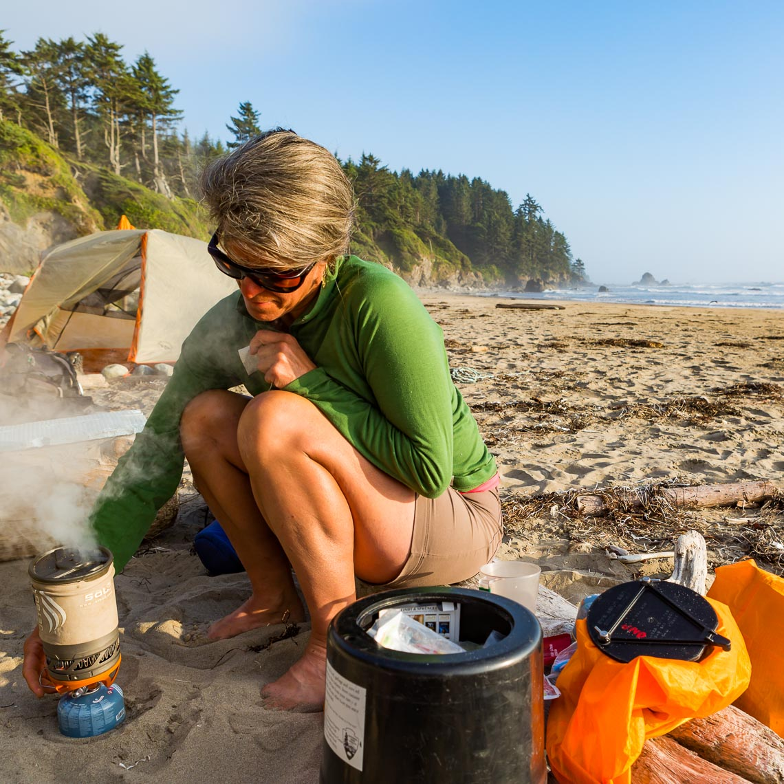 Beach Camp Washington Coast Backpack Trip | Michael DeYoung