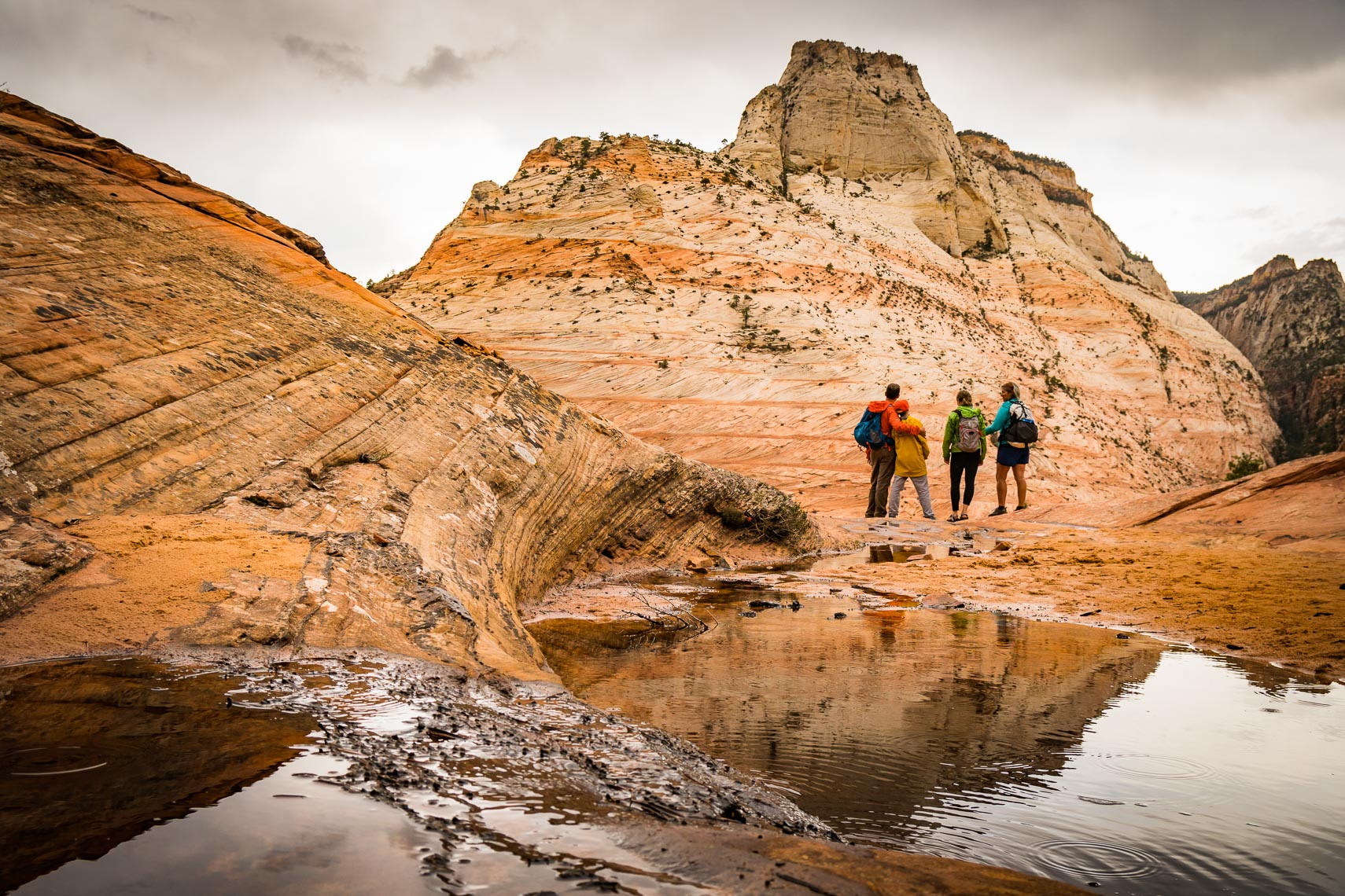 Family Zion Reflection Utah Adventure | Michael DeYoung