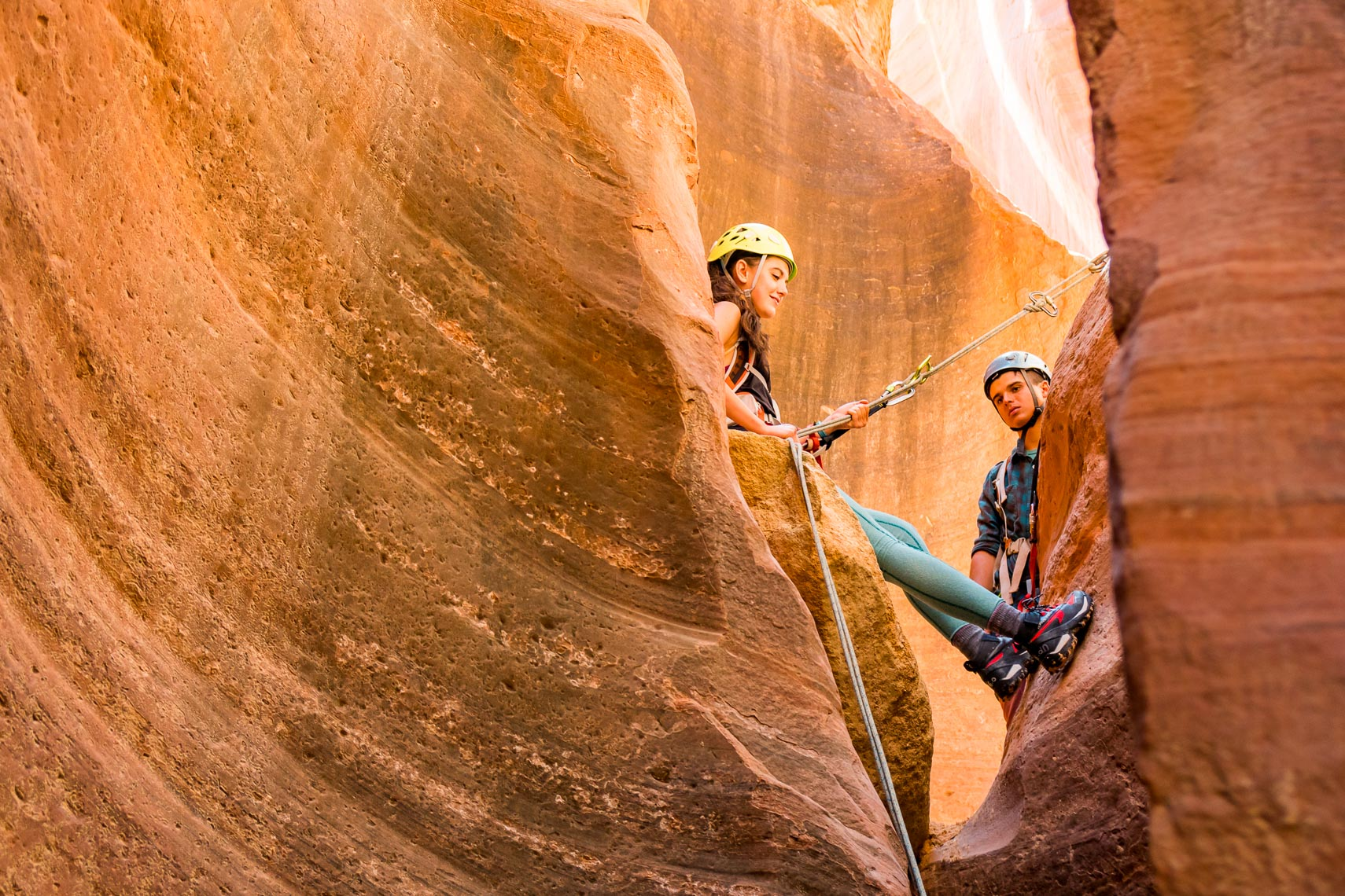 Zion National Park Canyoneering | Photographer Michael DeYoung